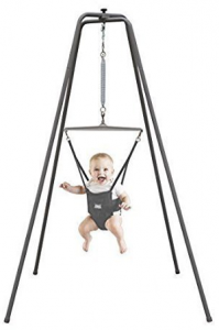 Baby jumper with stand