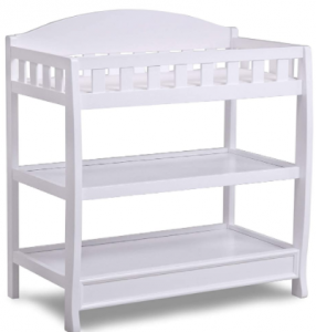 Childern infant changing table with pad