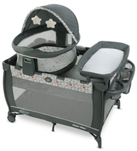 Travel dome baby changing table & portable bassinet