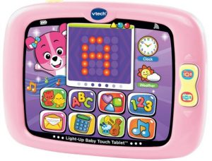 pink baby tablet